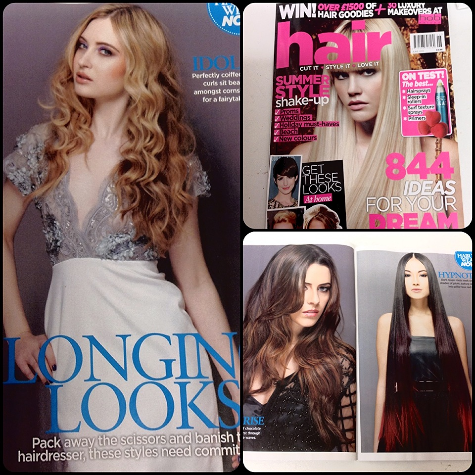Sve couture pieces in May issue of Hair Magazine